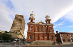 St Thomas Aquinas Cathedral in Reno, Nevada stock photo