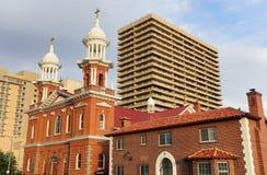 St Thomas Aquinas Cathedral in Reno, Nevada Royalty Free Stock Photos