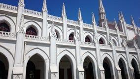 St Thomas Basilica in Chennai immagini stock