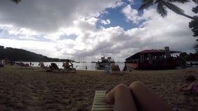 St. Thomas beach stock footage