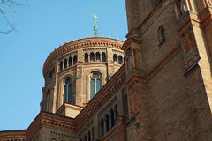 The St. Thomas Church in Berlin. Stock Image
