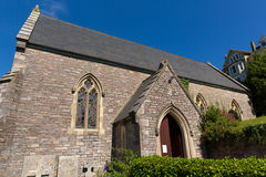 St Thomas church Kingswear near Dartmouth Devon Royalty Free Stock Images