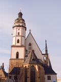 St Thomas Church Leipzig Royalty Free Stock Image