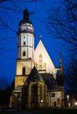 St Thomas church, Leipzig Stock Photography