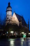 St Thomas church, Leipzig Royalty Free Stock Photo