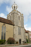 St Thomas Church, Lymington. View of the historic St Thomas' Church in Lymington, Hampshire.  Parts of the building date back to 1250 and it was used as a Royalty Free Stock Photography