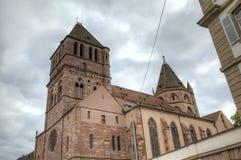St. Thomas Church. Strasbourg, France Royalty Free Stock Photo