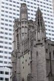 St Thomas Church, 5th ave, NY Royaltyfri Bild