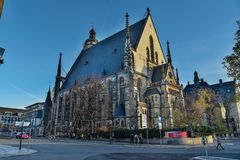 St. Thomas Church Thomaskirche in Leipzig, Germany royalty free stock photography