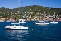 St Thomas, de Maagdelijke eilanden van de V.S. Royalty-vrije Stock Afbeeldingen