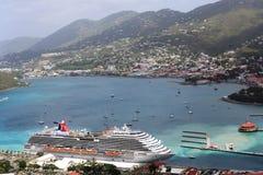 St Thomas, des Caraïbes Image libre de droits