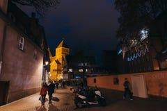 St. Thomas eglise Saint-Thomas Thomaskirche in central Strabourg Stock Photo