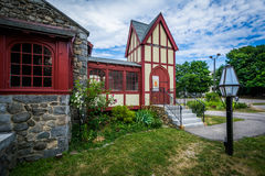 The St. Thomas Episcopal Church, in Dover, New Hampshire. Royalty Free Stock Photography