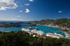 St. Thomas Harbor Royalty Free Stock Images