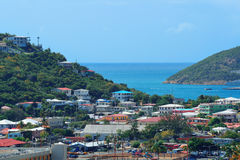 St Thomas harbor Stock Photography