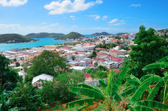 St Thomas harbor Royalty Free Stock Image