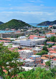 St Thomas harbor Stock Photo