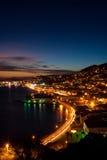 St Thomas - het Maagdelijke Eiland van de V.S. - Zonsondergang stock fotografie