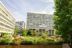 St Thomas Hospital in London Royalty Free Stock Image