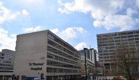 St. Thomas hospital in London, UK Stock Photography
