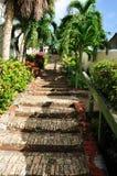 St. Thomas, isla de Virgen de los E.E.U.U. (USVI) de 99 pasos de progresión Fotos de archivo libres de regalías