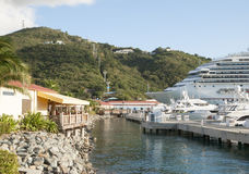 St Thomas Island Marina Royaltyfri Bild