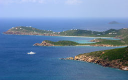 St.Thomas Island Points Royalty Free Stock Photography