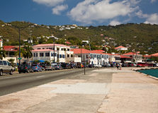 St. Thomas Island Shopping Stock Photography
