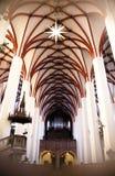 St Thomas kyrka i Leipzig, Tyskland Fotografering för Bildbyråer