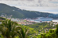 St. Thomas Landscape Royalty Free Stock Image