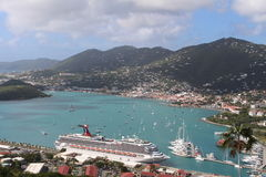 St Thomas Overlook Fotografia Stock