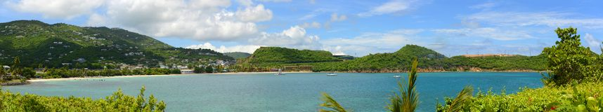 St. Thomas Panorama, US Virgin Islands, USA Royalty Free Stock Photography
