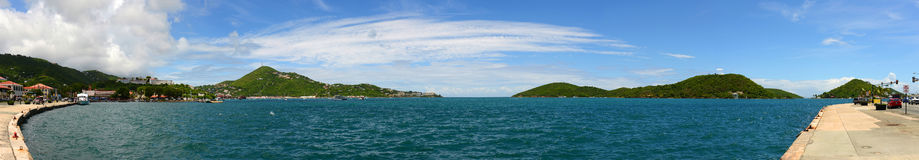 St. Thomas Panorama, US Virgin Islands, USA Royalty Free Stock Photo