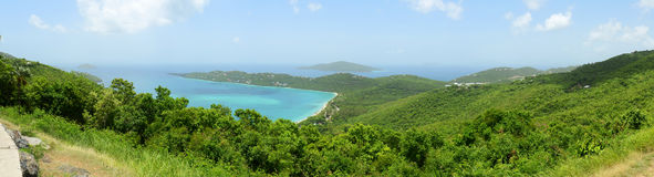 St. Thomas Panorama, US Virgin Islands, USA Stock Images