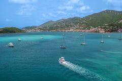 St Thomas Seascape photos stock
