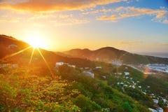 Free St Thomas Sunrise Stock Images - 31469914