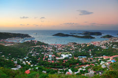 St Thomas sunrise Stock Photos