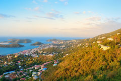 St Thomas sunrise Stock Image