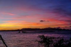 St Thomas sunset Stock Photos