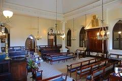St Thomas Synagogue, Charlotte Amalie, de Maagdelijke Eilanden van de V.S. stock foto's