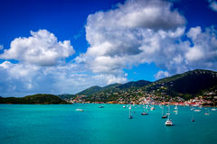 St Thomas Tropical Island Stock Afbeelding