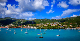 St Thomas Tropical Island Stock Images