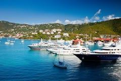 St. Thomas, USA Dziewicy Wyspy Obraz Royalty Free