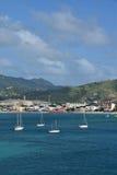 St Thomas USA Jungfruöarna Arkivbild