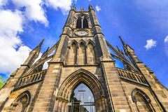 St Thomas y x27; Iglesia, Haymarket, Newcastle sobre Tyne, Reino Unido Fotos de archivo libres de regalías