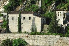 St. Tommaso church at Berat Stock Image