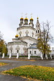 St. Trinity Cathedral in Verchoturye, Russia Royalty Free Stock Photography