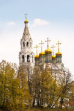 St. Trinity Cathedral in Verchoturye, Russia Stock Photo