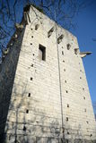 St. Triphon Castle Ruin Stock Image