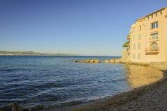 ST Tropez - υπόστεγο d'Azur, Γαλλία Στοκ Εικόνες